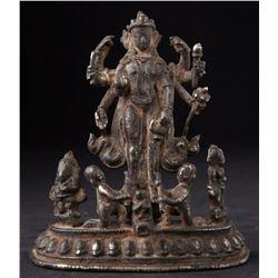Antique Hindu God Statue