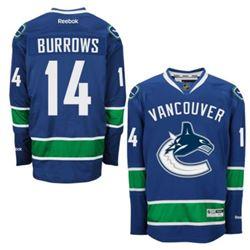 Vancouver Canucks ALEX BURROWS Jersey