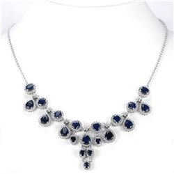 Natural BLUE SAPPHIRE 135 Ct Necklace