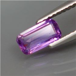 Natural  Lavender UNHEATED Sapphire 7.5x4 MM