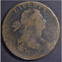 1800/79 DRAPED BUST LARGE CENT V6