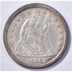 1856-O LIBERTY SEATED DIME XF/AU