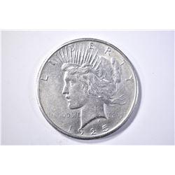 1925-S PEACE DOLLAR AU/BU