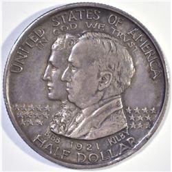 1921 ALABAMA CENTENNIAL COMMEM HALF DOLLAR AU