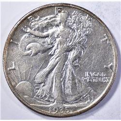 1935-D WALKING LIBERTY HALF DOLLAR CH AU