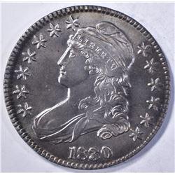 1830 BUST HALF DOLLAR CH BU CLEANED