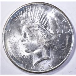1925-S PEACE DOLLAR BU