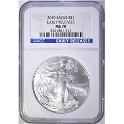 2010 A.S.E. EARLY RELEASE DOLLAR