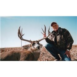 Colorado, USA - 1 Hunter for 5-Day Eastern Colorado Mule Deer or Whitetail Deer Hunt