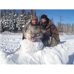Northern Ontario, Canada - 1 Hunter for 5-Day Wolf Hunt