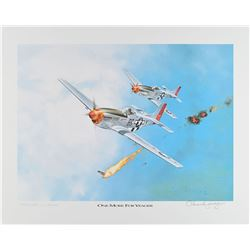 Chuck Yeager Signed Lithograph