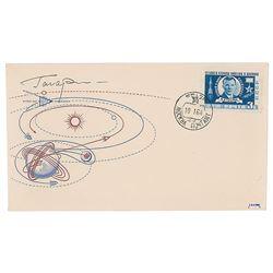 Cosmonauts Set of (6) Signed KNIGA Covers