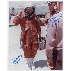 Valentina Tereshkova and Alexey Leonov Signed Photograph