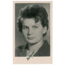 Valentina Tereshkova Signed Photograph