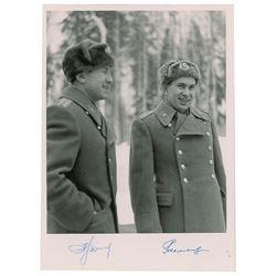 Voskhod 2 Signed Photograph