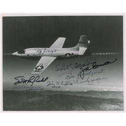 X-1 Test Pilots Multi-Signed Photograph
