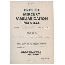 Scott Carpenter's Project Mercury Familiarization Manual