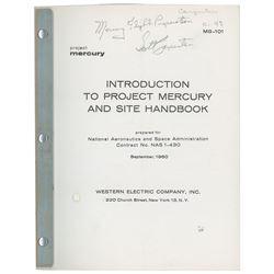 Scott Carpenter's Project Mercury Handbook