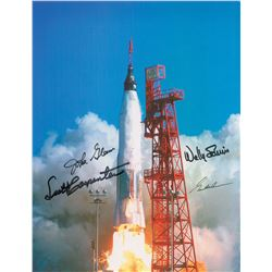 Mercury Astronauts Signed Photograph