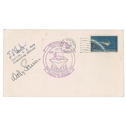 Wally Schirra Signed Covers