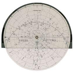 Gordon Cooper's Gemini 5 Training-Used Star Chart