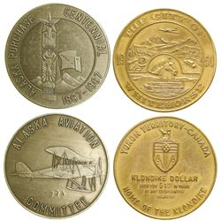 Alaska Aviation/Whitehorse Tokens  (89062)