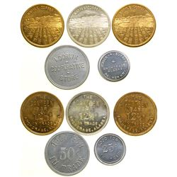 Five Alaska Tokens  (90380)
