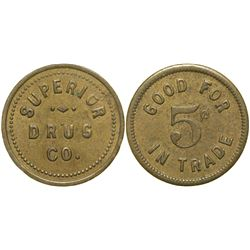 Superior Drug Co. Token  (90347)