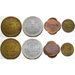 Four Arizona Tokens  (89024)