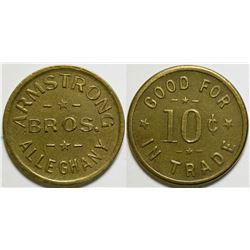 Armstrong Bros. Token  (101226)