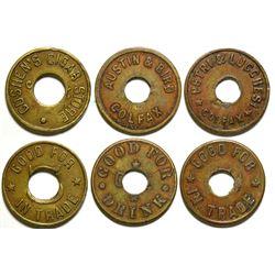Three Colfax Tokens  (101223)