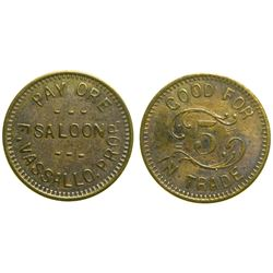Pay Ore Saloon Token  (90330)