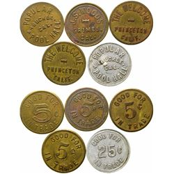 Colusa County Tokens  (101678)