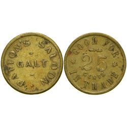 Patton's Saloon Token  (90340)
