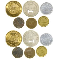 Gold Country Tokens  (100481)