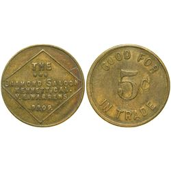 Diamond Saloon Token  (90327)