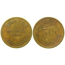 Mill Creek Camp Token  (100493)