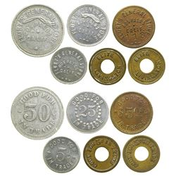 Merced County Tokens  (101648)