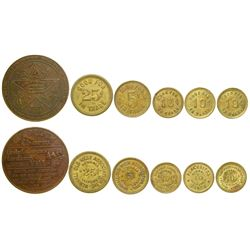 Old West Tokens  (100388)