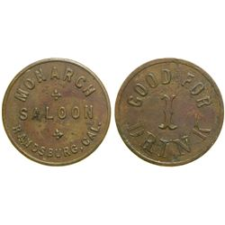 Monarch Saloon Token  (90357)
