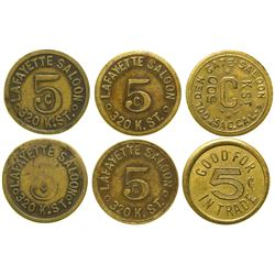 Saloon Tokens  (100370)
