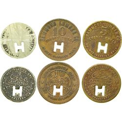 Hammond Lumber Co. Tokens  (90338)