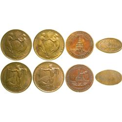 Pan Pacific Exposition Medals  (89068)