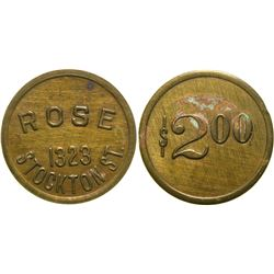 Rose B. Roy Brothel Token  (101803)