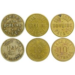 Bowling Tokens  (101234)