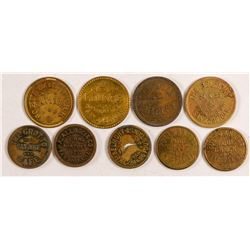 Nine Bar Tokens  (101231)