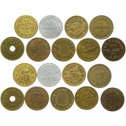 San Jose Bar Tokens  (101664)