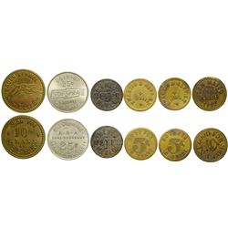 San Mateo County Tokens  (100395)