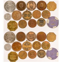 Santa Clara County Token Collection  (101237)