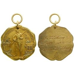 Continental Fire Insurance Co. Gold Medal  (89074)